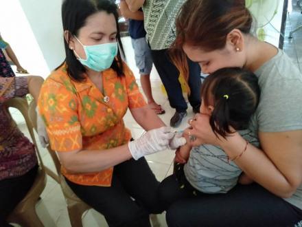 Sayangi Anak Dengan Imunisasi MR