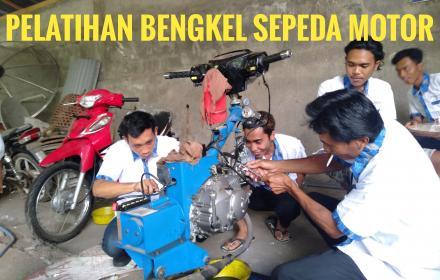 Meningkatkan Sumber Daya Manusia ( SDM) Melalu Pelatihan Bengkel Sepeda Motor