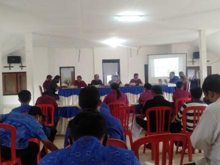Musdes LPJ Realisasi APBDes Selat 2020